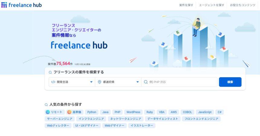 【メディア掲載】レバレジーズ株式会社様が運営するFreelance hubに掲載いただきました。